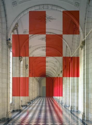Felice Varini's Anamorphic Illusions