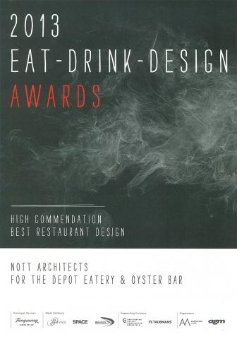 The Depot Eat Drink Design Awards